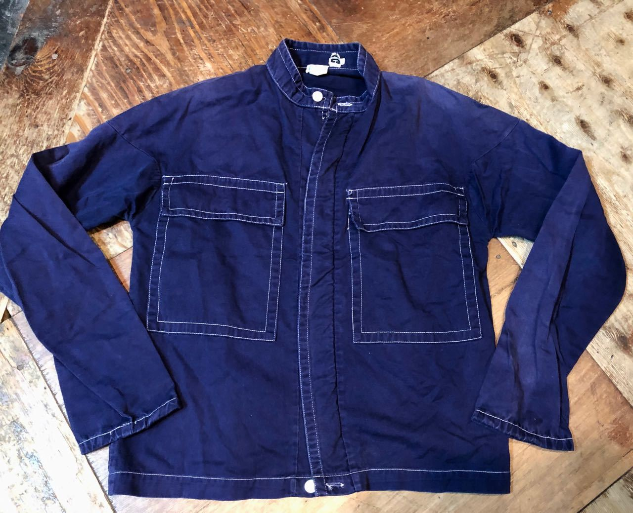 3月28日(木)入荷! 60s Penny\'s Towncraft all cotton Jacket!!_c0144020_14010279.jpg