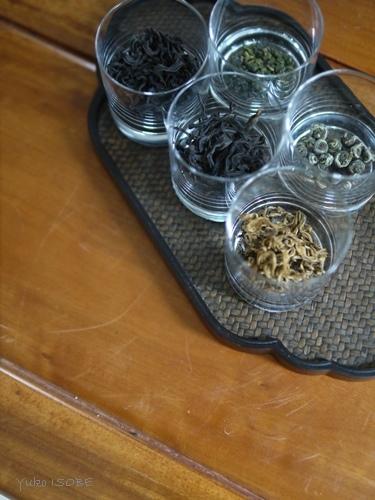中国茶五種のみ比べのお客さまをお迎えしました。_a0169924_21395656.jpg