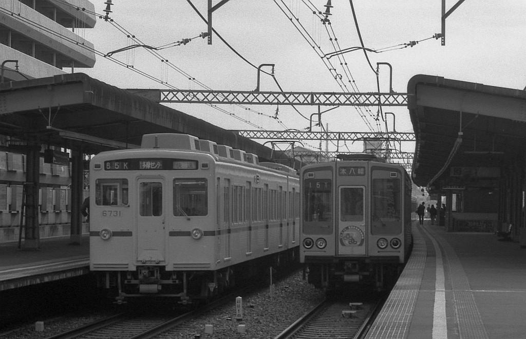 1989年3月京王線笹塚にて_f0203926_21364945.jpg