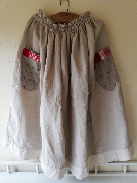 早川ユミさんのちくちくスカート!_b0207631_10481423.jpg