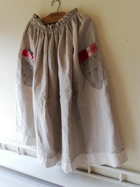 早川ユミさんのちくちくスカート!_b0207631_10490104.jpg