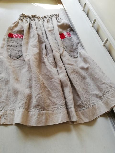 早川ユミさんのちくちくスカート!_b0207631_10520677.jpg