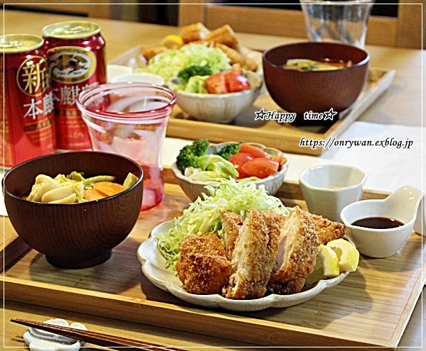 お稲荷さんと肉じゃが弁当とおうちごはん♪_f0348032_17521216.jpg