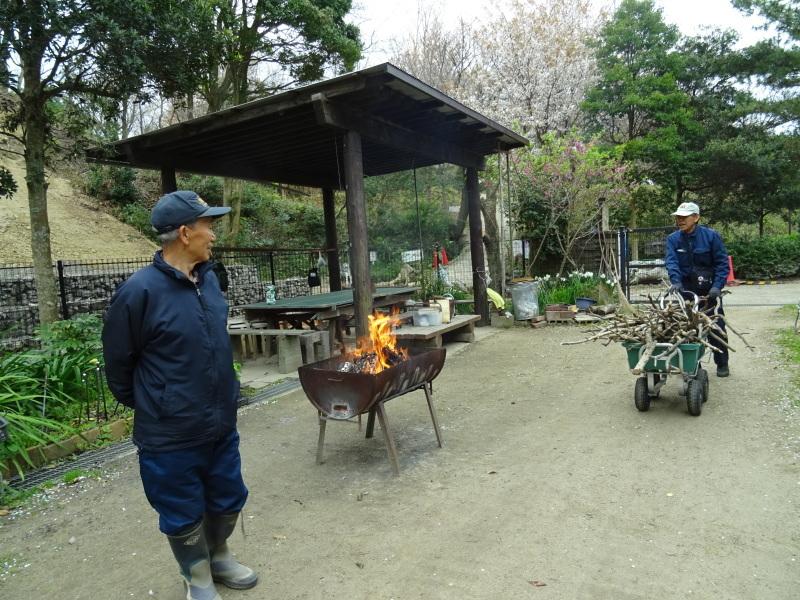復旧した小川周辺の整備・・・うみべの森_c0108460_16243901.jpg