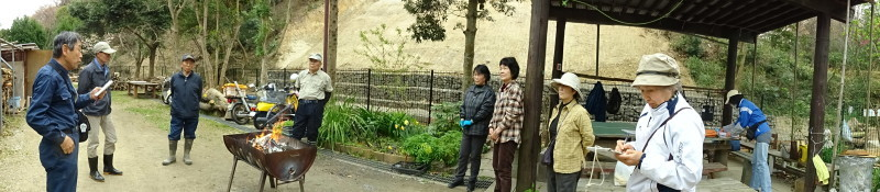 復旧した小川周辺の整備・・・うみべの森_c0108460_16253514.jpg