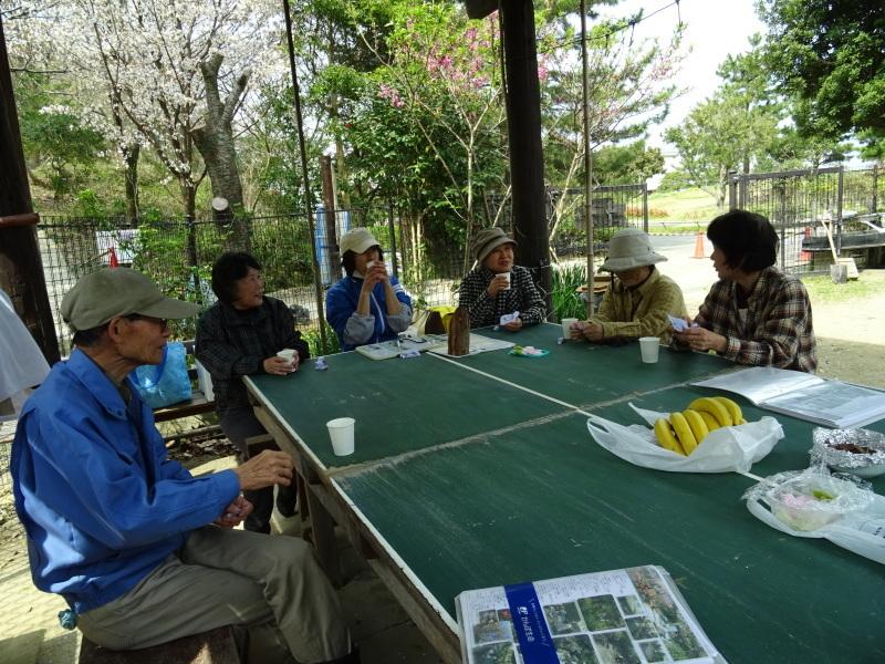 復旧した小川周辺の整備・・・うみべの森_c0108460_16354517.jpg