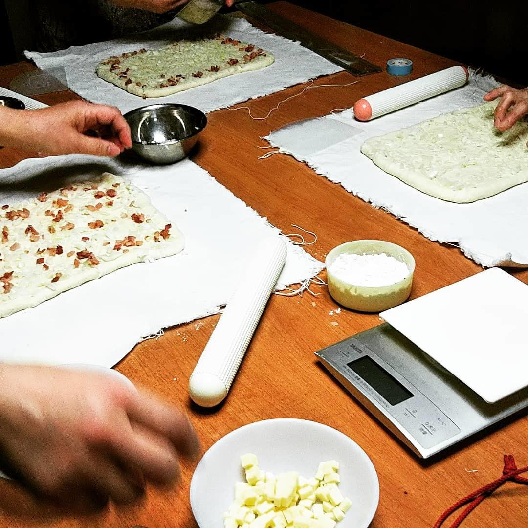 オニオンベーコンチーズとチョコチップメロンパン_d0138307_10202627.jpg