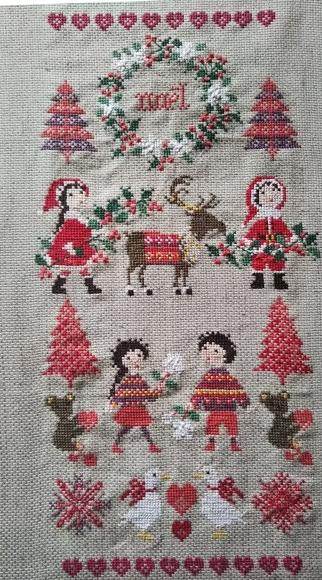 クリスマス刺繍が!_f0316507_14125526.jpg