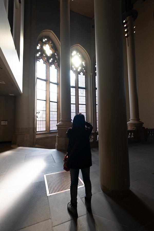 シアトル紀行 ワシントン大学の素晴らしい図書館で #FUJIXPro2_c0065410_01304923.jpg