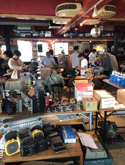 4月13日 江の島オッパーラが贈るレコード&古着のフリーマーケット開催!KZA/MISTA SHAR/太平洋商店/SG THE KOOLEST オッパーラはシルクスクリーン手刷りで参加!_d0106911_21552057.jpg