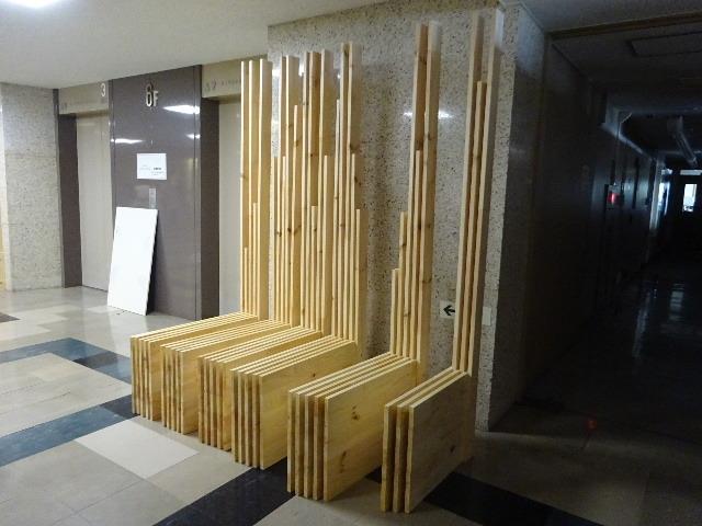 岩手県庁6階 木質化実証実験 ②_f0105112_04584894.jpg
