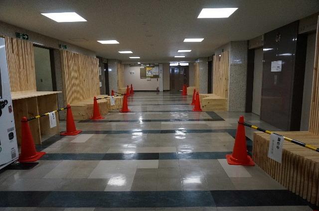 岩手県庁6階 木質化実証実験 ②_f0105112_05050443.jpg