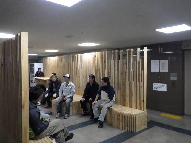 岩手県庁6階 木質化実証実験 ②_f0105112_05050469.jpg