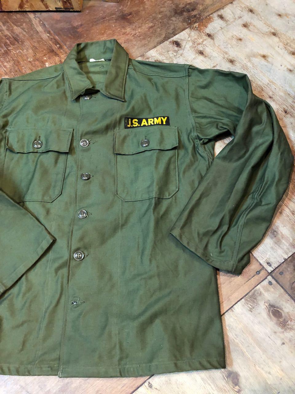 3月30日(土)入荷! デッドストック!60s U.S ARMY  0G107 サテンシャツ! _c0144020_13343953.jpg