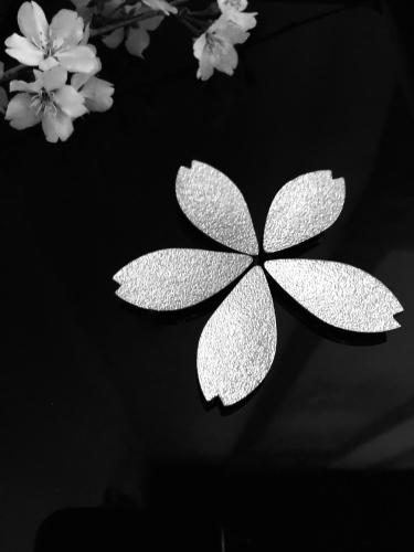 桜の箸置き&椿も咲いてまーす_a0197730_12462578.jpg