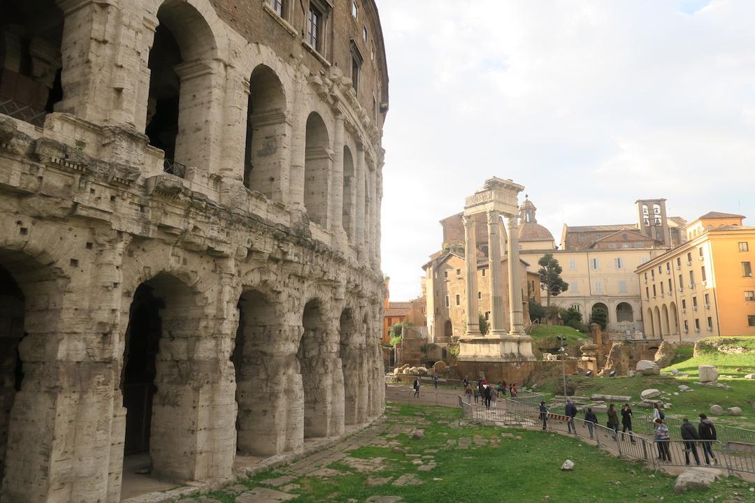 ローマ歩き人出にびっくり お上りさん_f0234936_8521533.jpg
