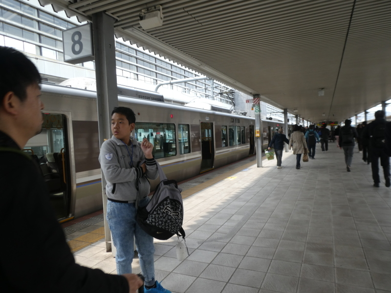 姫路城散策・・・孫と一緒に_c0108460_21341353.jpg