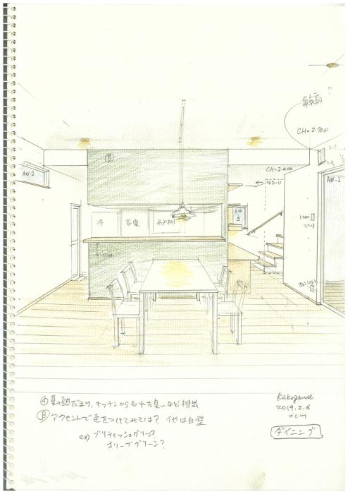 「加古川山手の家」スケッチ_f0230666_14161552.jpg