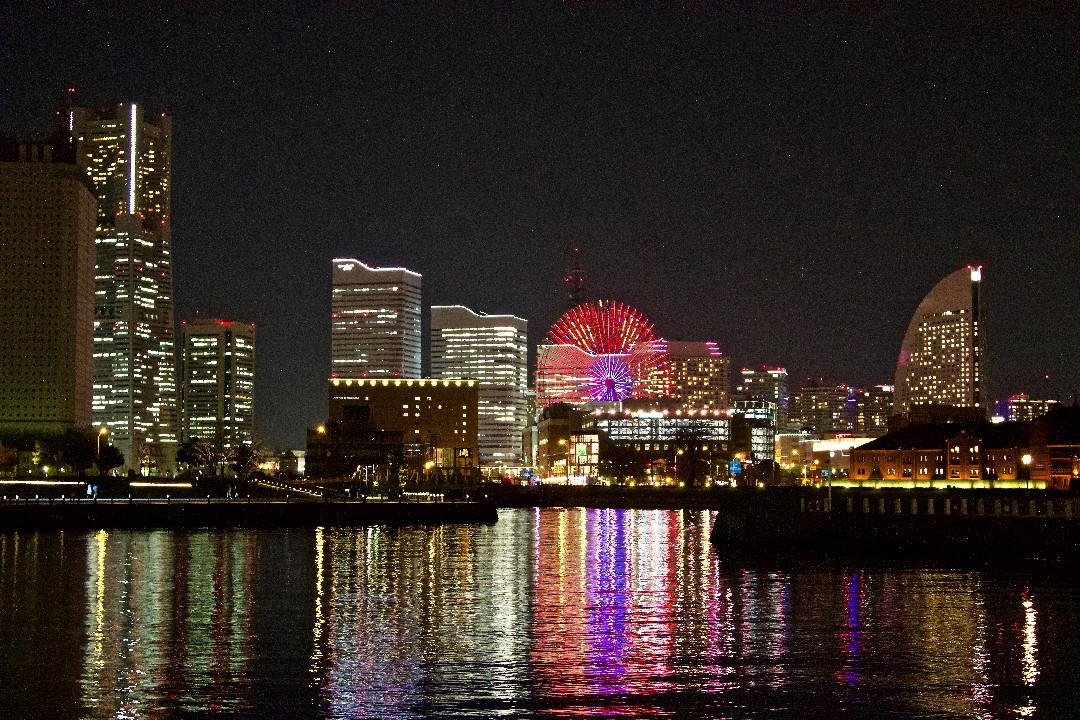 横浜中華街と大さんばしの夜景_e0071967_1945124.jpg