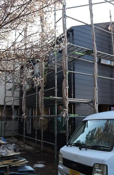 9坪の家もできてきました。_a0076877_21185717.jpg