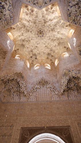 スペインのイスラム建築3-華麗な装飾_a0166284_16594032.jpg