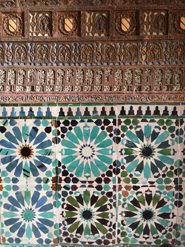 スペインのイスラム建築3-華麗な装飾_a0166284_17382054.jpg
