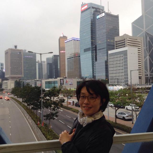 香港島からスターフェリーで九龍へ渡る。_a0334793_21362692.jpg