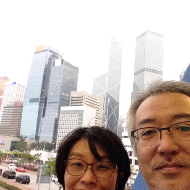 香港島からスターフェリーで九龍へ渡る。_a0334793_21363076.jpg