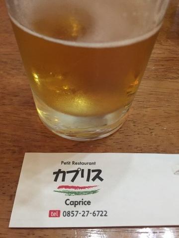 Petti Restaurant カプリス  にて壮行会_e0115904_10082073.jpeg
