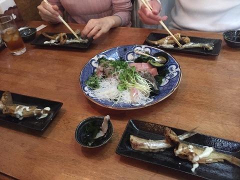 Petti Restaurant カプリス  にて壮行会_e0115904_10093338.jpeg