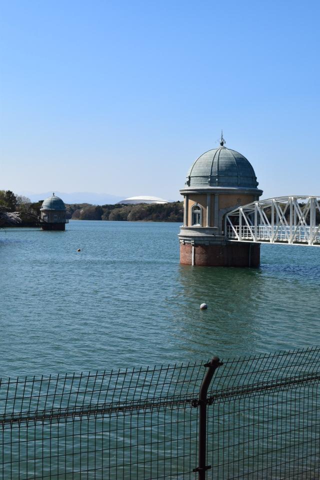 東京多摩湖・村山下貯水池取水塔(大正モダン建築探訪)_f0142606_11501628.jpg