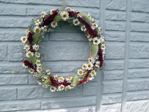 自家製花材で春のリース作り_f0129726_20090888.jpg