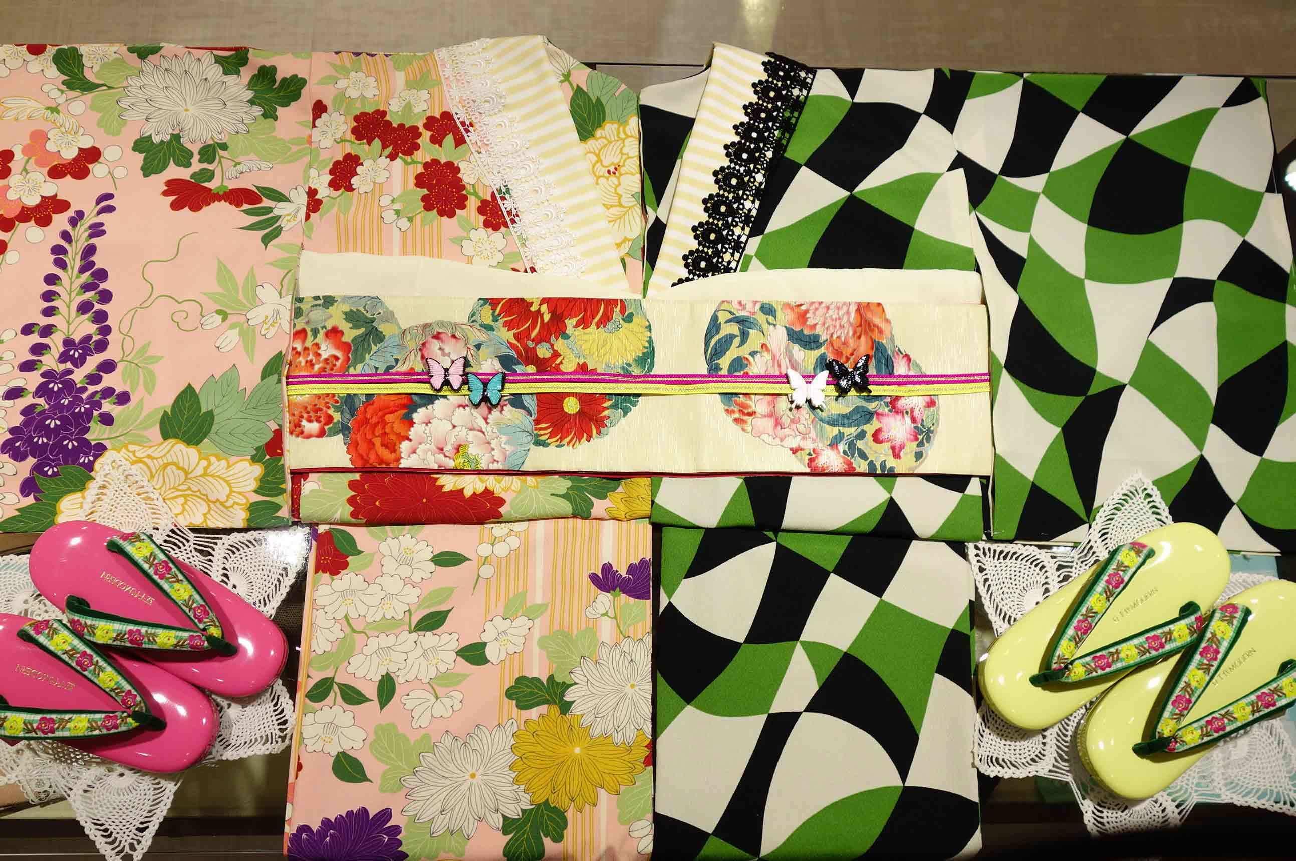 【人気商品】Air草履☆半巾帯/花丸紋が再入荷しました♪_e0167832_13132397.jpg