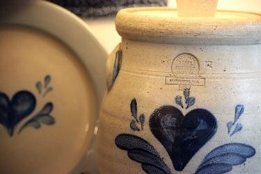 Rowe Pottery の大きなハートのランプ♥_f0161543_15421278.jpg