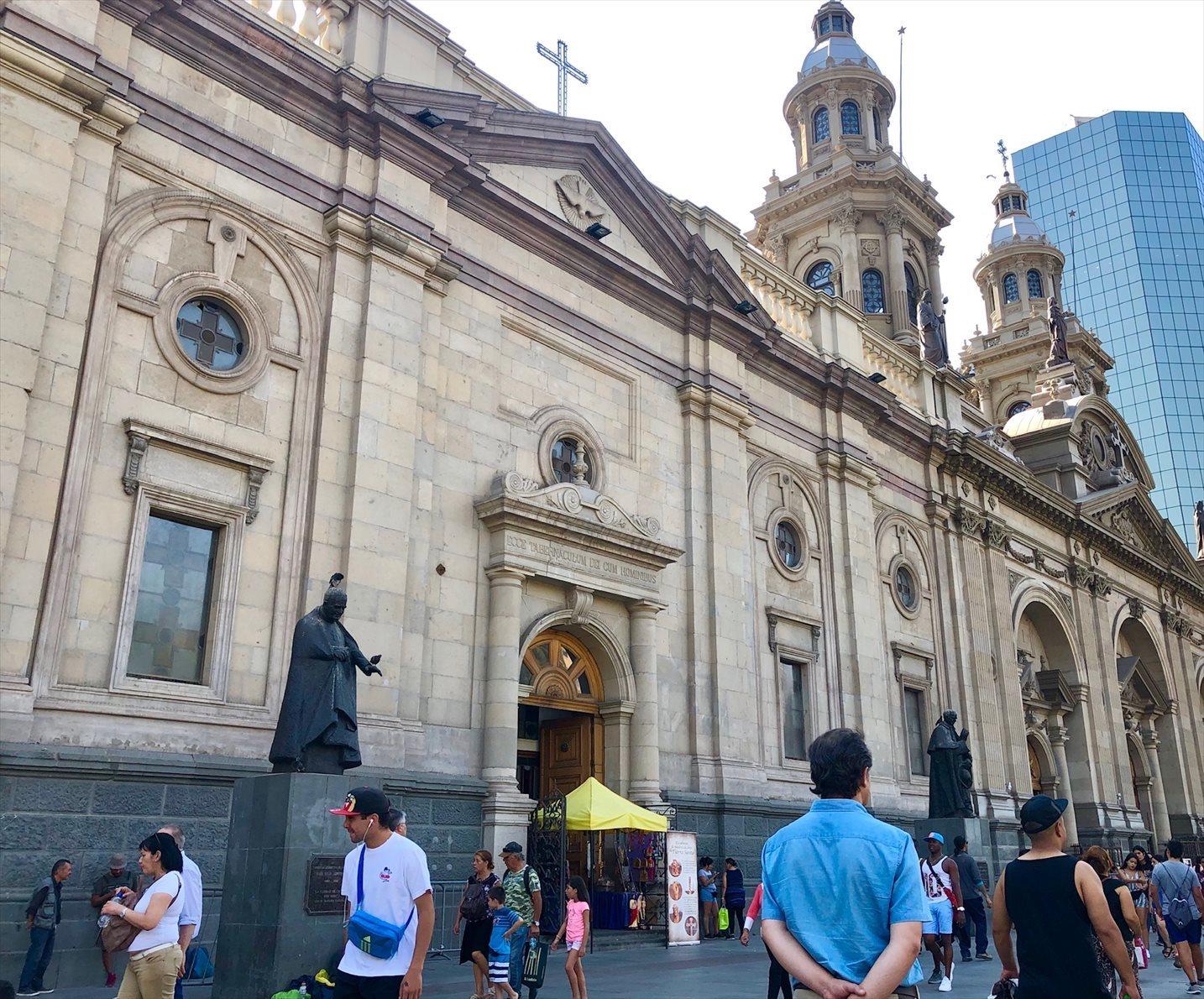 中南米21日間/5 チリの首都サンティアゴ_a0092659_19542477.jpg