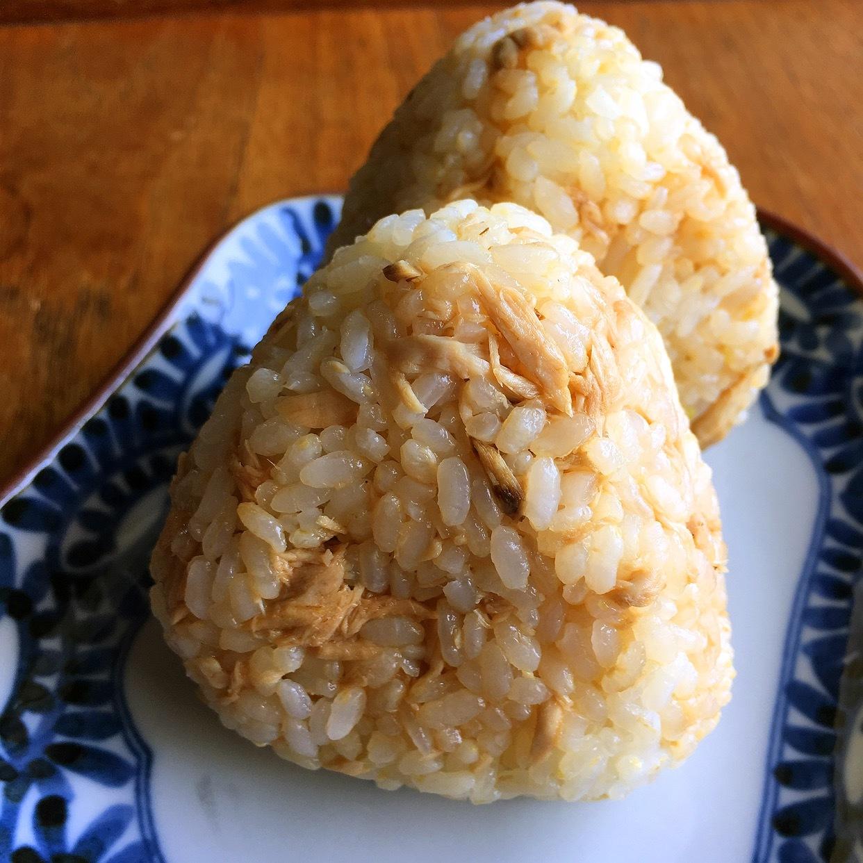 【春休みのお昼ごはん】魚で作るそぼろのおにぎり_e0345163_17133973.jpg