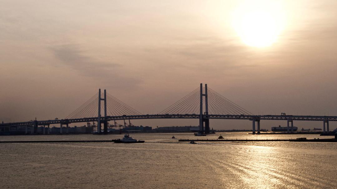 早朝の大さん橋_e0071967_1132558.jpg