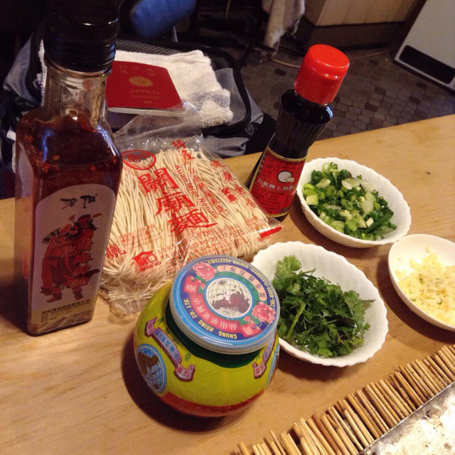 酸菜白肉火鍋で香港ウチアゲと野分リハーサル。_a0334793_19563433.jpg