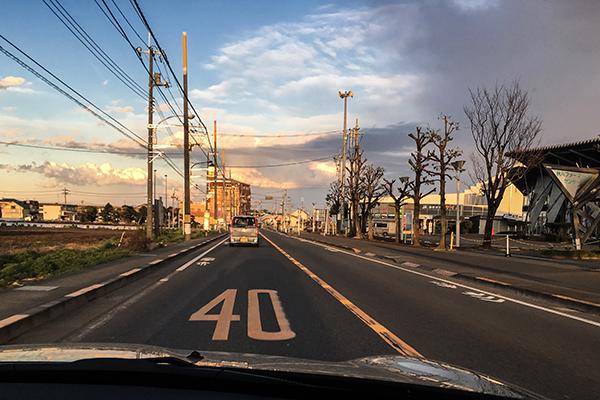 アトリエからの帰り道、天気が変わりそう!_b0194208_22550362.jpg