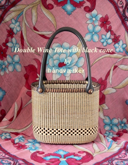 Double Wine Tote with black cane_f0197215_14131874.jpeg