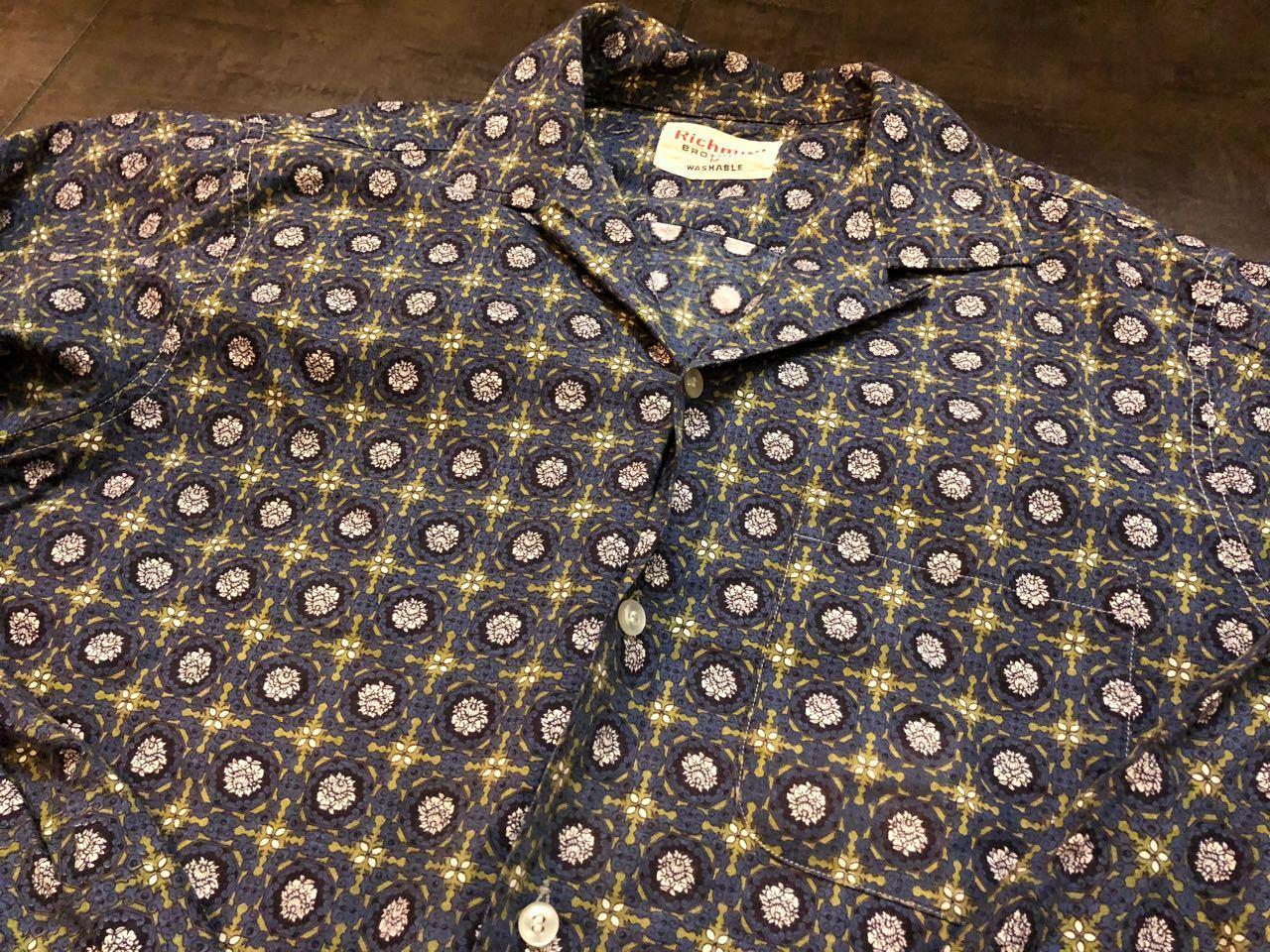 3月31日(日)入荷!60s RICHMAN BROTHERS  オープンカラーシャツ!_c0144020_13365997.jpg