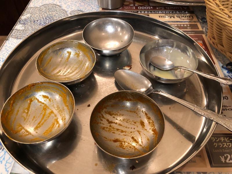 安くて美味しいインドカレーランチ ダージリン_a0359239_17461524.jpg