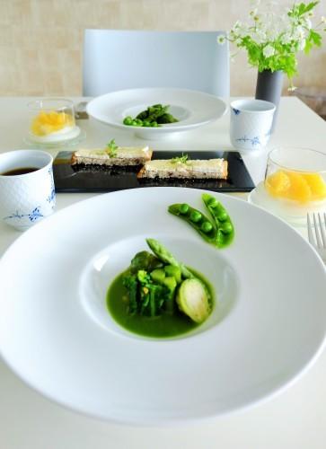 小松菜のポタージュ_b0145846_23132503.jpg