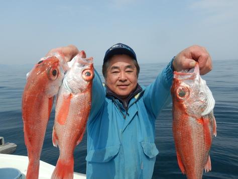 伏見君、駿河湾に響く高笑い、大アカムツゲット!!_f0175450_7471335.jpg