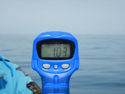 伏見君、駿河湾に響く高笑い、大アカムツゲット!!_f0175450_748813.jpg