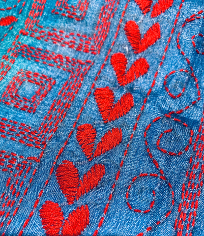 一点物 カンタ刺繍 シルクスカート_d0187468_14541136.jpg