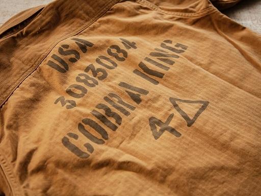 """FREEWHEELERSより\""""37th TB 4△ COBRA KING\""""カスタムシャツのご紹介です!!_d0160378_21042635.jpg"""