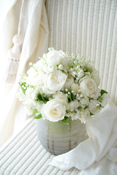 お嫁ちゃんのためのブーケ_f0127281_22092690.jpg