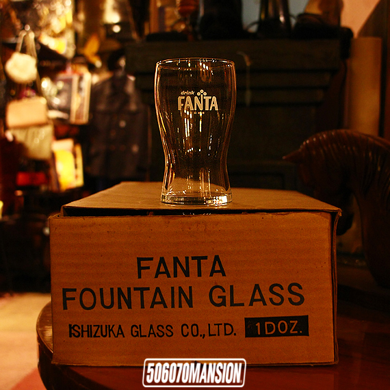 1960s Vintage NOS drink FANTA fountain glass 1ダースセット ファンタ_e0243096_21175878.jpg