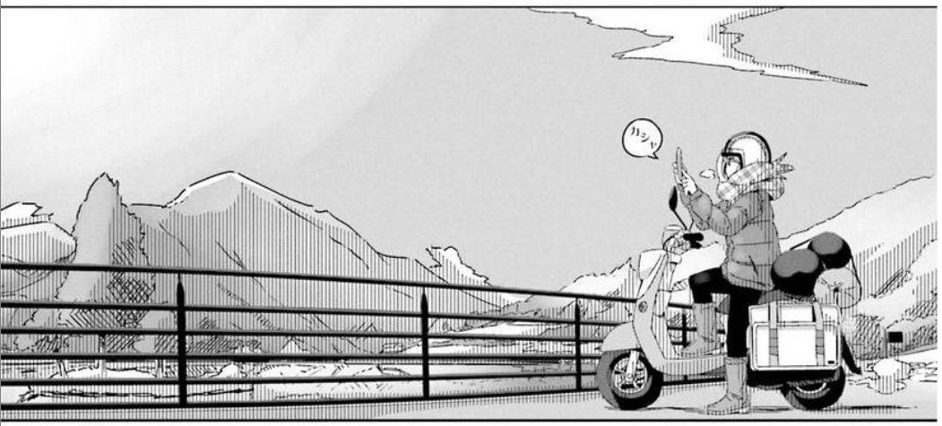 コミック「ゆるキャン△」舞台探訪003 志摩リン早川町の奈良田の里へ 第7巻第36話と第37話_e0304702_07544298.jpg